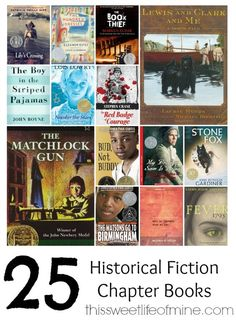 Bring your history lessons to life with one of these historical fiction chapter books. | thissweetlifeofmine.com