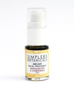 Sandalwood And Chamomile Argan Facial Treatment Organic Simplers Botanicals 15 ml Oil *** Additional details at the pin image, click it : cypress essential oil Cypress Essential Oil, Chamomile Essential Oil, Essential Oils, Evening Primrose, Primrose Oil, Rosehip Seed Oil, Facial Treatment, Aromatherapy, Perfume Bottles