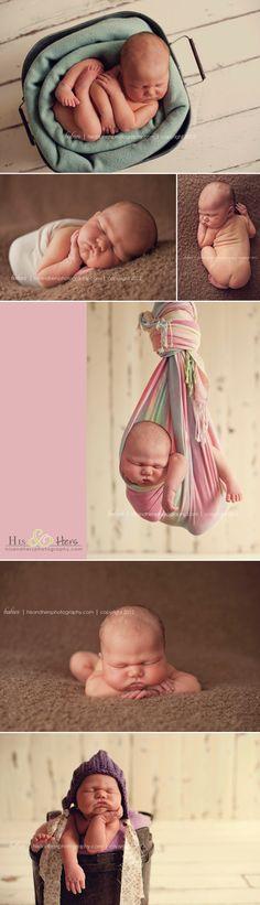 newborn <3     Des Moines photographer Darcy Milder     His & Hers