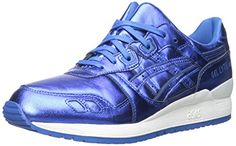 ASICS Women's Gel-Lyte III Retro Running Sneaker, Classic Blue/Classic Blue, 8 M US -- See this great product.