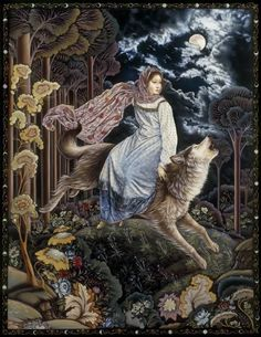 Exquisite Bohemian Fairy Tale Illustrations by Artuš Scheiner