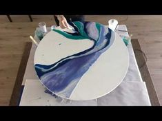Resin Art - When you mess it up what you can do to fix it!! - YouTube
