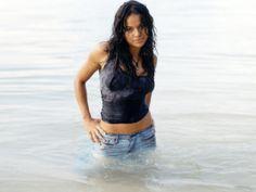 wet jeans beach deviantart   Michelle Monaghan