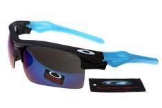 Oakley Jawbone Sunglasses Blue Black Frame Colorful Lens 0635