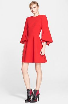Alexander McQueen Kimono Sleeve Dress available at #Nordstrom