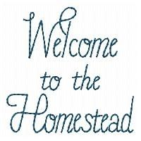 Welcome to the Homestead Redwork - 4x4 | Primitive | Machine Embroidery Designs | SWAKembroidery.com HeartStrings Embroidery