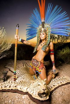 Aztec Princess Warriors | Recent Photos The Commons Getty Collection Galleries World Map App ...
