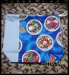 漁師【光栄丸】とハンドメイド♪:妖怪ウォッチの青色の布