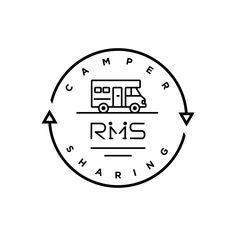 デザイン事務所ココドル 大阪  大阪発のキャンピングカーをシェアリング(現在はレンタルも可能)できるサービスのブランディングデザインを担当。ロゴマークは一目見て分かるイラストを起用し、サイクルする様を回転するベクトルに。文字タイプのRMSのMは『人と人が向き合い、手を差し出して分かち合う姿』を表現した。 #logo #logodesign #logodesigner #design #graphicdesign #graphicdesigner #art #illustrator #illustration #outdoor #outdoors #camper #camp #car #campingcar #ロゴ #デザイン #キャンピングカー Camping Car, Room Tour, App Ui, Logos, Typo, Logo Design, Printables, Illustration, Illustrations