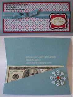 christmas 4 Money Holders {free patterns} photo