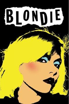 Pop Music Posters, Prints, Badges & Calendars - Buy Online at PopArtUK.com  Cool popup art Blondie.