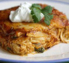 Free Press Test Kitchen recipe: Chicken Enchilada Casserole