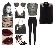 """""""Untitled #212"""" by stillkidruahl on Polyvore featuring E L L E R Y, Balmain, River Island, Christian Dior, STELLA McCARTNEY and Alexander McQueen"""