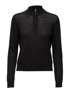 2nd Jessie (Black) - DAY BIRGER ET MIKKELSEN  Regular fit Casual elegance Classic Made from luxurious materials Black Winter Jersey Jessie, Knitwear, Athletic, Jackets, Shopping, Black, Fashion, Down Jackets, Moda