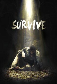 walking dead season 5 | The Walking Dead Season 5: Daryl Poster by jevangood