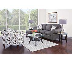 Alfresco Ii Ash Sofa Chaise Living Room Sectionalliving Artliving