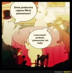 Simaa joudaan aina... Fandom Memes, Moomin, Cool Pictures, Fandoms, Lol, Random Stuff, Comics, Words, Funny