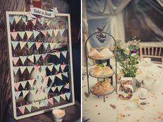 bunting table plan, image by Kari Bellamy Photography