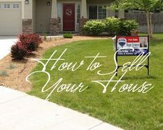 Basic tips for prepping your house to be put on the market.