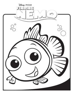 Finding Nemo Coloring Book Pages
