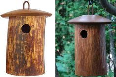 Use this nifty wood urn to scatter the remains, then repurpose it as a birdhouse. A great way to reduce, reuse, and recycle.