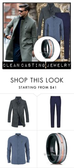 """""""CleanCastingJewelry 2"""" by zehrica-kukic ❤ liked on Polyvore featuring DKNY, Lyle & Scott, men's fashion and menswear"""