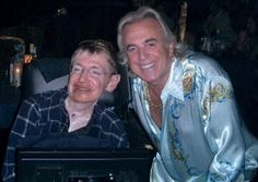 Stephen Hawkings at a Swinger's Club!  Woohoo!!  I don't know why this makes me so happy.