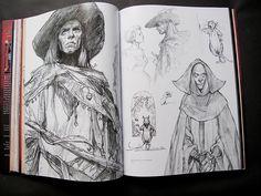 Shadowline: The Art of Iain McCaig by Parka81, via Flickr