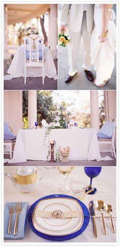 beautifuly styled mediterranean wedding