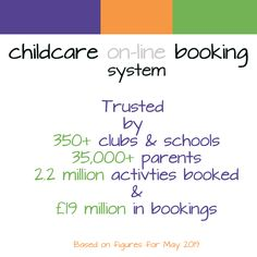 childcare on-line booking after school booking software After School Club, Cob, Childcare, Software, Books, Libros, Child Care, Book, Parenting
