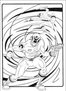 Imagens para pintar dos Power Rangers - 29