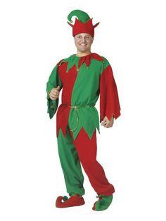 Halloween Adult Complete Elf Costume