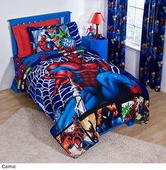 Kids Bedding For Boys: Kids Bedding For Boys Spider City Design ~ Bedroom  Inspiration