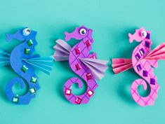 Make Your Own Seahorses