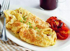 This tasty potato omelet takes less than 15 minutes to make.