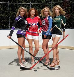 wouldn't you love theses chicks cheering on your games? Players Wives, Hockey Players, Angelica Bridges, Cheerleading, Bengals Cheerleaders, Cheerleader Images, Hockey Pictures, Ice Girls, Hockey Girls