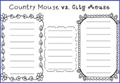 compare and contrast essay country vs city