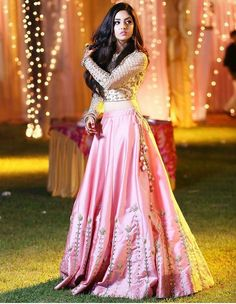 Pink Colour Taffeta And Silk Fabric Party Wear Lehenga Choli Comes With Matching Blouse. This Lehenga Choli Is Crafted With Embroidery. This Lehenga Choli Comes With Unstitched Blouse Which Can Be Sti. Pink Lehenga, Indian Lehenga, Indian Gowns, Indian Attire, Bridal Lehenga, Net Lehenga, Lehenga Choli Online, Indian Wear, Indian Wedding Outfits