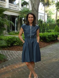 Can't Buy Me Love Dress sewn by Sew Charleston (2)