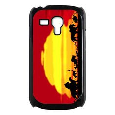 disney the lion king with sunset Samsung Galaxy Note s3 mini case $16.89 #etsy #Accessories #Case #cover #CellPhone #Galaxys3Mini #Galaxys3Minicase #s3Mini #simba #lionking #thelionking #americananimated #sunset #cartoon #disney
