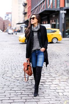 Like this blogger!  Stuart Weitzman over the knee boots