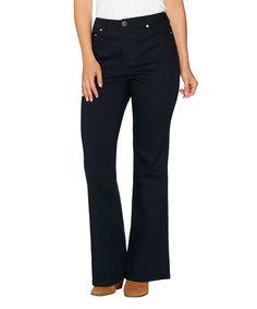 Black Flare-Leg Jeans - Plus Too
