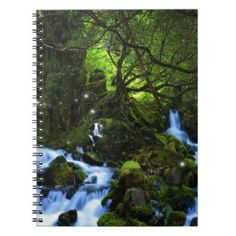 Forest Dreams Spiral Notebook