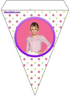 Banderin de Violetta para decoración