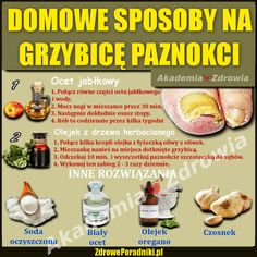 Domowe sposoby na grzybicę paznokci • ZdrowePoradniki.pl Lose Weight, Health Fitness, Food, Tvs, Pedicure, Pedicures, Meals, Health And Fitness, Yemek