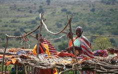 Market spurred for us on our visit to a Masai Tribe in Kenya