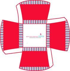 Montando minha festa: Kit grátis para imprimir Azul, branco e vermelho!