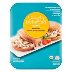 Organic Pulled Chicken 10 oz - Simply Balanced™ : Target. Pre-cooked and clean eating friendly!