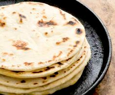 Make sure you save your bacon grease to whip up a batch of these fluffy buttermilk flour tortillas.