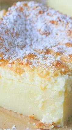 Magic Custard Cake Recipe Uk